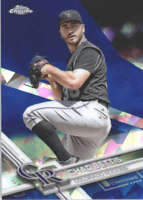 CHAD BETTIS 2017 TOPPS CHROME SAPPHIRE EDITION #371 ONLY 250 MADE