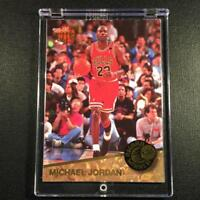 MICHAEL JORDAN 1992 FLEER ULTRA #1 AWARD WINNER INSERT CARD CHICAGO BULLS NBA MJ