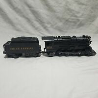 Lionel Polar Express Ready To Play Engine No.1225 and Coal Car G Gauge