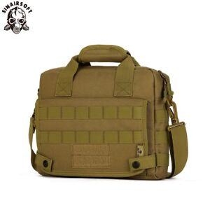 Tactical Military Laptop Shoulder Messenger Bags Tote Handbag Briefcase Assault