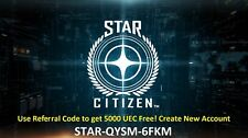 Star Citizen Referral code STAR-QYSM-6FKM Free 5000 UEC-register account referal