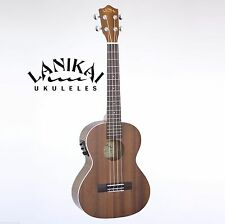 LANIKAI LU21-TEK TENOR SIZE ELECTRIC/ACOUSTIC UKULELE WITH FISHMAN KULA PICKUP