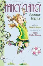 NANCY CLANCY SOCCER MANIA Jane O'Connor BRAND NEW Book BEST EBAY PRICE!