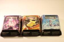 Pokemon JOB LOT DE 3 TRADING CARDS (PIKACHU-Mewtwo-Bright Tide)