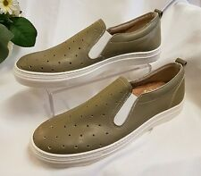 CHAUSSURES HOMME CLASSIQUE VERT 60 45 MADE IN ITALY Baskets chaussons