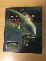 ALIEN ANTHOLOGY Blu Ray Digibook Cofanetto 6 Disc - New & Sealed