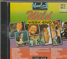 Wild WeekendCD-Troggs/Jerry Lee Lewis/Gene Vincent/Coasters/Fats Domino/Crystals