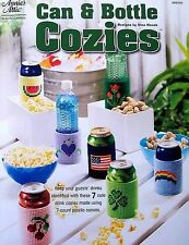 Plastic Canvas  Can & Bottle Cozies Patterns  New  Annie's Attic