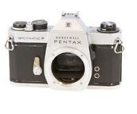 Pentax Spotmatic SP F (Honeywell) M42 Mount 35mm Camera Body, Chrome - AI