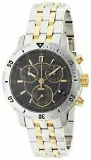 Tissot Men's PRS 200 Grey Chronograph Dial Two ToneT0674172205100