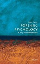 `Canter, David`-Forensic Psychology  (UK IMPORT)  BOOK NEW