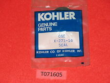 Genuine! KOHLER X-271-16 seal, pto output side K91 K-91 engine NOS! OEM!