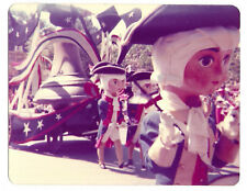 Vintage 70s PHOTO Disneyland Bicentennial Parade Characters Marchers