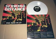 STRIKING DISTANCE The Fuse is lit w/ LIVE AT Cbgb WHITE Vinyl LP NEW 2013 USA
