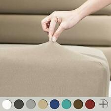 Fitted Sheet 4 Way Stretch Micro-Knit for Standard and Air Bed Mattress Taupe
