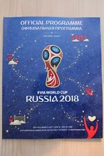 2018 FIFA WORLD CUP FINALS (RUSSIA) OFFICIAL TOURNAMENT PROGRAMME + 1966 REPRINT