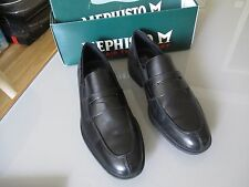 mocassins homme mephisto taille 41 air jet cuir comme neuve