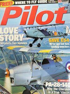 Pilot British Flying Magazine Mooney Flight Test Tiger Moth Jungmann Cherokee