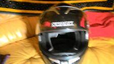 """casque moto """"SHARK, HELMET 8 ,S 900 GLOW """" taille""""M"""" couleurs """"NOIR/ROUGE ,tres"""