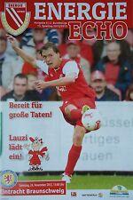 Programm 2012/13 FC Energie Cottbus - Braunschweig