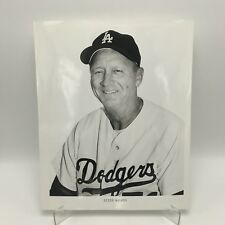 "DIXIE WALKER - Los Angeles Dodgers Baseball - 8"" x 10"" Black & White Photograph"