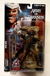 Evil Ash Figure Movie Maniacs Series 4 New 2001 Army of Darkness McFarlane Toys