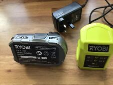 Ryobi One+ Lithium+ 18v 2.0ah Battery and Charger