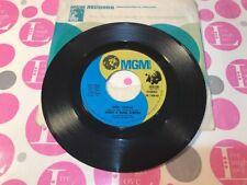 """DONNY & MARIE OSMOND: """"DEEP PURPLE"""" /""""TAKE ME BACK AGAIN"""" 1974 45RPM MGM EXC!"""