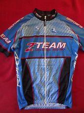 Giordana Short Sleeve Men's Team Cycling Full Zip Jersey -  M