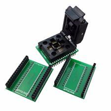 1Pcs TQFP 32 QFP32 a DIP32/28 Adaptador De Programador IC Chip prueba Zócalo Pitch Negro