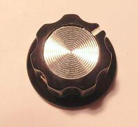 Bakelit Drehknopf Ø 20 mm Potiknopf Stellknopf Einstellknopf 6 mm Achse… [#1022]
