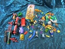 Lot Of 58 Vintage figurines/tractors-John Deere, International, trains, animals