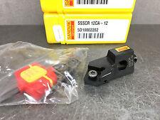 NEW Sandvik SSSCR 12CA-12 CoroTurn 107 Cartridge for Turning Boring Tool