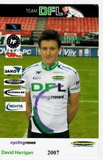 CYCLISME carte  cycliste DAVID HARRIGAN  équipe DFL cycling news 2007