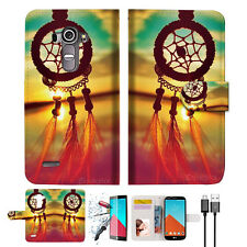 Dream Catcher Wallet TPU Case Cover For LG G4-- A008