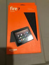 Amazon Tablet Case for Amazon Fire 7 2017 Release - Charcoal Black