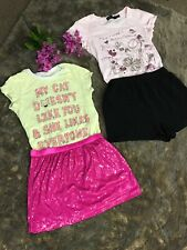 Girls clothes lot size 10-12,mix Disney,children Place,Cherokee,forever 21.