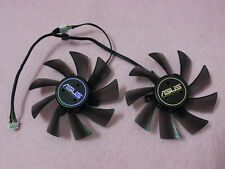 95mm ASUS GTX680 HD7950 HD7970 Dual Fan Replacement T129025SU 5Pin 0.38A R60b
