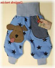 Niciart ♥ nuevo pantalones kuschelsweat ♥ Baby Sweat Pump pantalones Doggy ♥ ♥ 98 104 110 116 122