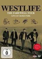 WESTLIFE - THE FAREWELL TOUR-LIVE AT CROKE PARK  DVD NEU