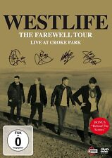 WESTLIFE - THE FAREWELL TOUR-LIVE AT CROKE PARK  DVD NEU
