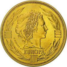 [#554695] France, Medal, Ecu Europa, Marianne, 1994, Rodier, Ms(65-70), Bronze