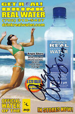 Angie Akers (USA) Beachvolleyball FIVB World Tour orig.signiert/signed !!!