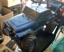 Tamiya 1/18 RC TLT-1 RockBuster 4WD Little Gear #47201 Jeep Body Rubicon