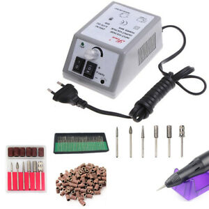 Electric Nail File Set Lightweight For File Fingernail Toe Nail Machine Set US