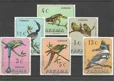 Timbres Oiseaux Panama 453/8 ** lot 17862