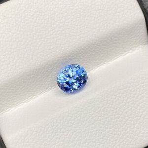 Natural Blue Sapphire 1.43 Cts Sri Lanka Oval Cut Loose Gemstone