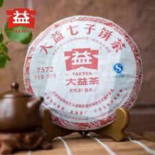2011yr TAETEA Menghai 7572 Batch 105/106 Ripe Puer Tea 357g Dayi Shu Puerh Cake