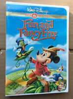 Walt Disney Gold Classic Collection Fun & Fancy Free DVD New Factory Sealed