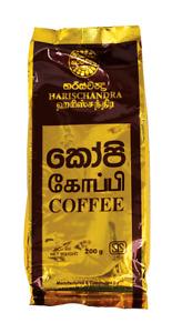 COFFEE POWDER- Pure Sri Lankan- Harischandra Coffee  200G Free Standard Ship